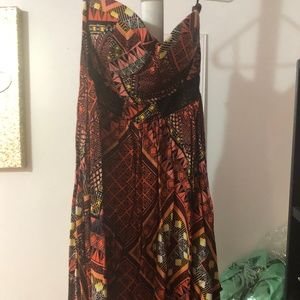 Mini- tube top dress